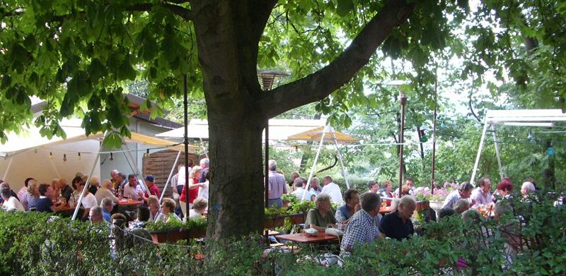Biergarten öffnet am Donnerstag, den27.05.