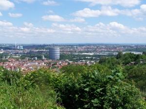 Blick auf Stuttgart-Ost