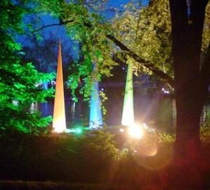 Beleuchtung zum Sommerfest