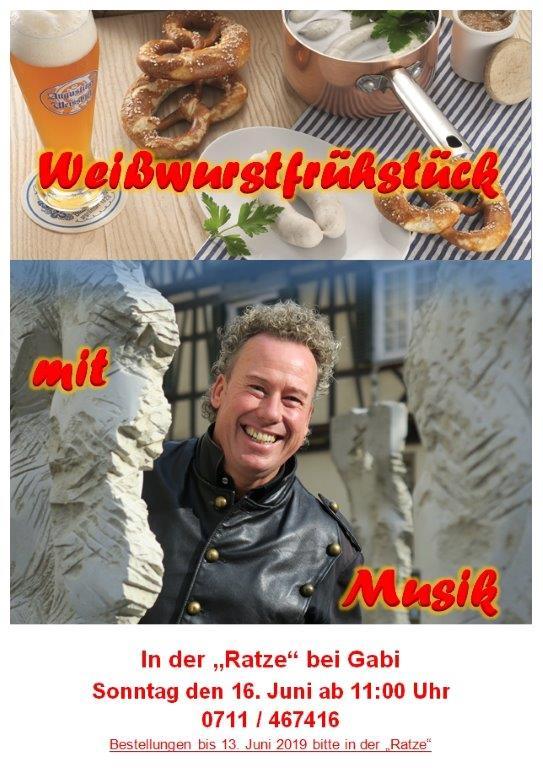 Weisswurst auf dem Raichberg